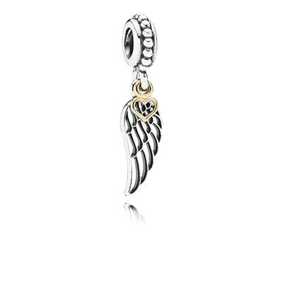 A friend is like a guardian angel - always there to love you and protect you. #PANDORAcharm #Friendship