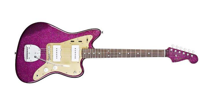 Fender J Mascis Jazzmaster, Purple Sparkle Finish
