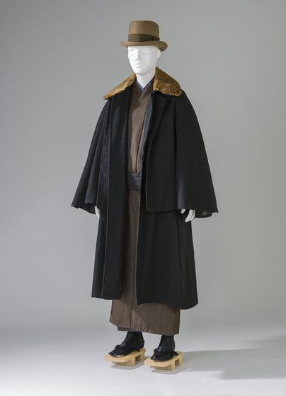 Download pattern of Man's Overcoat (Tonbi) Japan, Taisho period (1912–26) to Showa period (1926–89); 1925–35