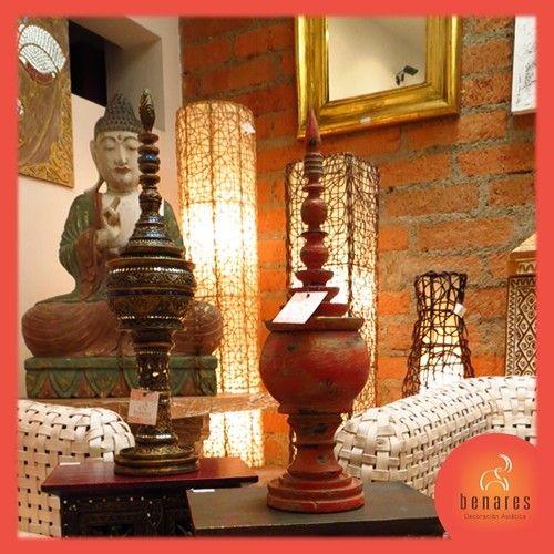 Todo en decoraciones Asiáticas. Salas, comedores, cuadros, lámparas, productos étnicos, ofrendas budistas, estatuas budistas, artículos decorativos y mucho más.