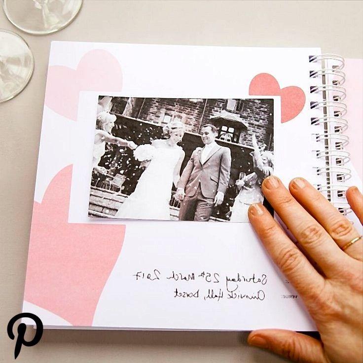 Paper 1st Wedding Anniversary Marriage Memories Album 1st Wedding Anniversary Memory Album Wedding Anniversary