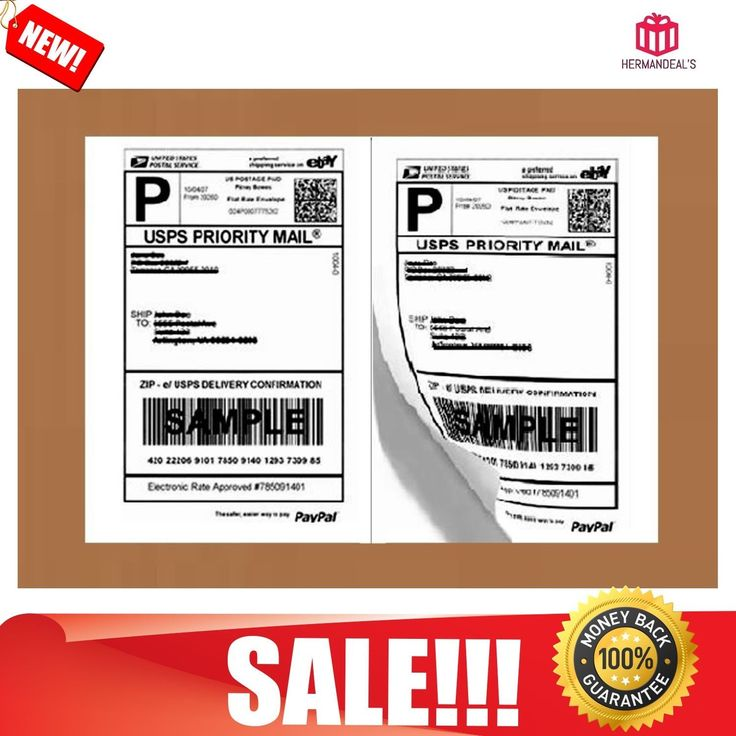 Shipping Labels Ebay Business Paypal Self Adhesive Laser