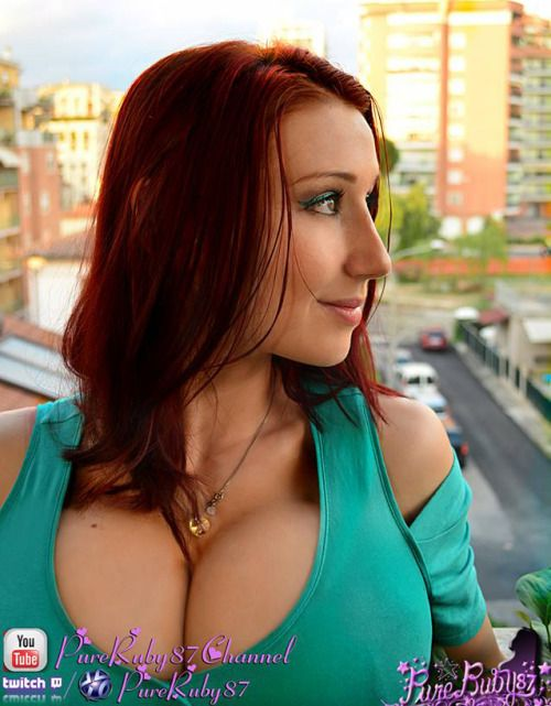 Good Red heads with hanging boobs