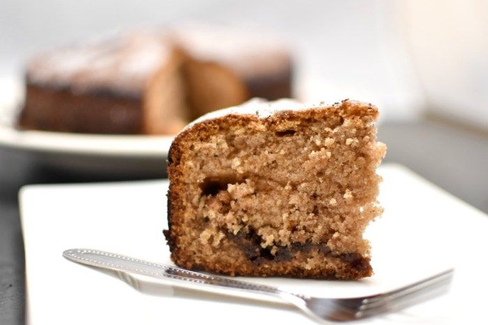 A recipe for an amazing yet simple cinnamon and nutella cake