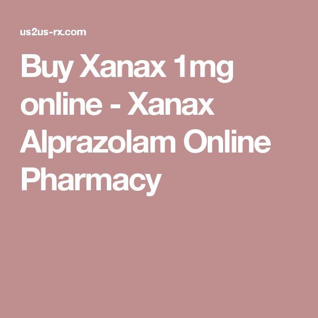 Buy Xanax 1mg online - Xanax Alprazolam Online Pharmacy