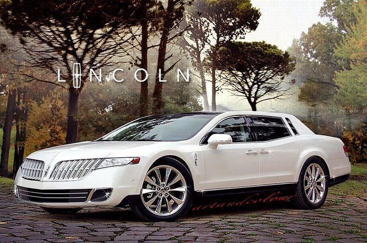 lincoln mark viii concept car | Lincoln sedan from the MKT. I'm just not sure if it's a new Town Car ...