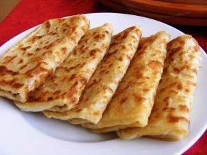 Marokkaanse pannekoekjes: Msemen