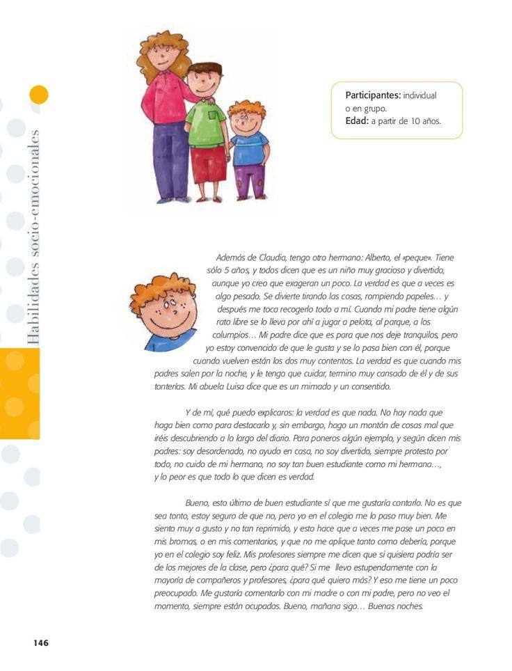Este libro es una herramienta de fácil acceso para que los niños, padres y educadores puedan abordar y avanzar en la educación emocional.  Las actividades son muy fáciles de leer, los textos están escritos en un lenguaje claro y sencillo, por lo que los niños pueden leerlas y llevarlas a cabo ellos solos. Este libro ha sido elaborado por un grupo de experto de educadores y psicopedagogos especializados en Educación emocional. Para niños y niñas de 6 a 12 años, padres y educadores.
