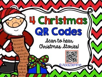 FREE - QR Codes:  4 Christmas Stories