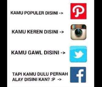 Cerita social media