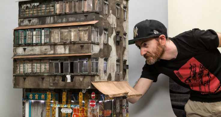 Amazingly Realistic Urban Architectural Model by Australian Miniaturist Artist from Basic Materials - Arch2O.com