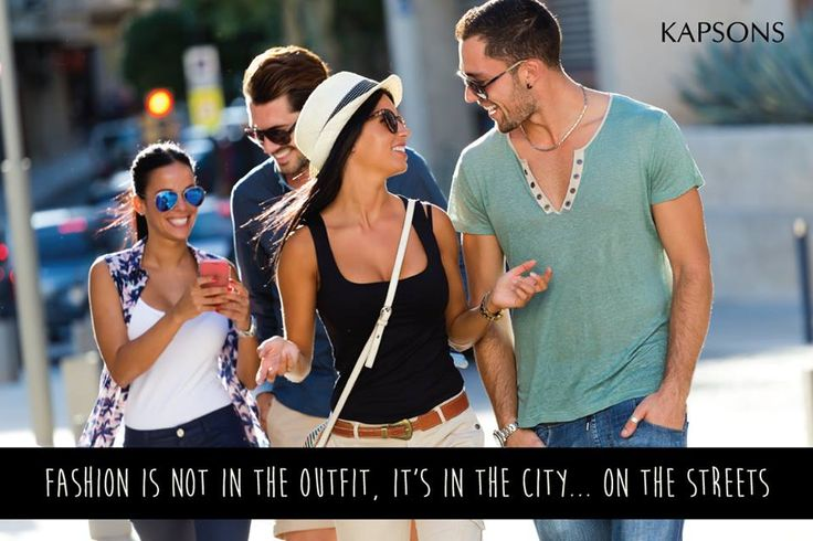 Fashion is everywhere... Grab some from the nearest Kapsons store or shop online at Kapsons.com. #Kapsons #Style