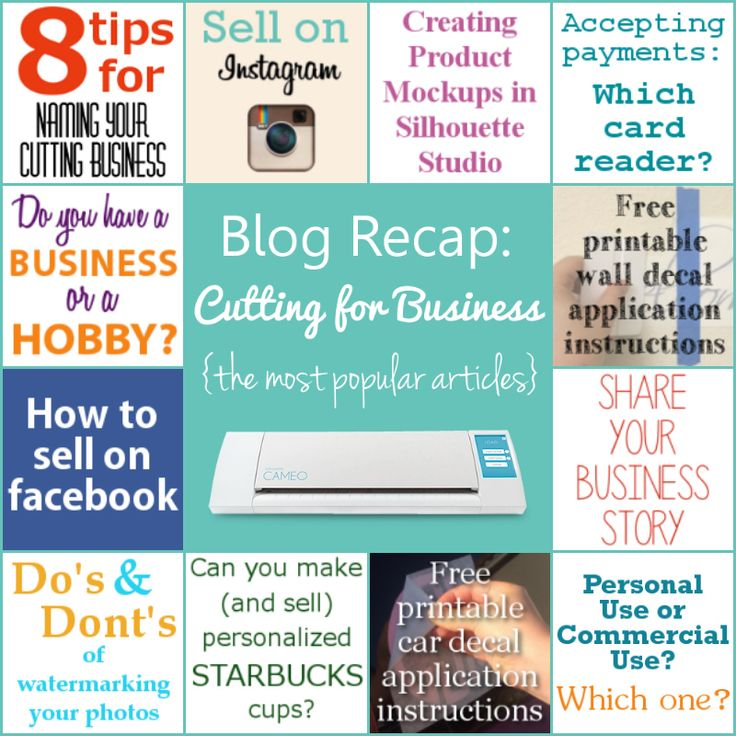 Blog Recap - Cutting for Business - The Most Popular Articles