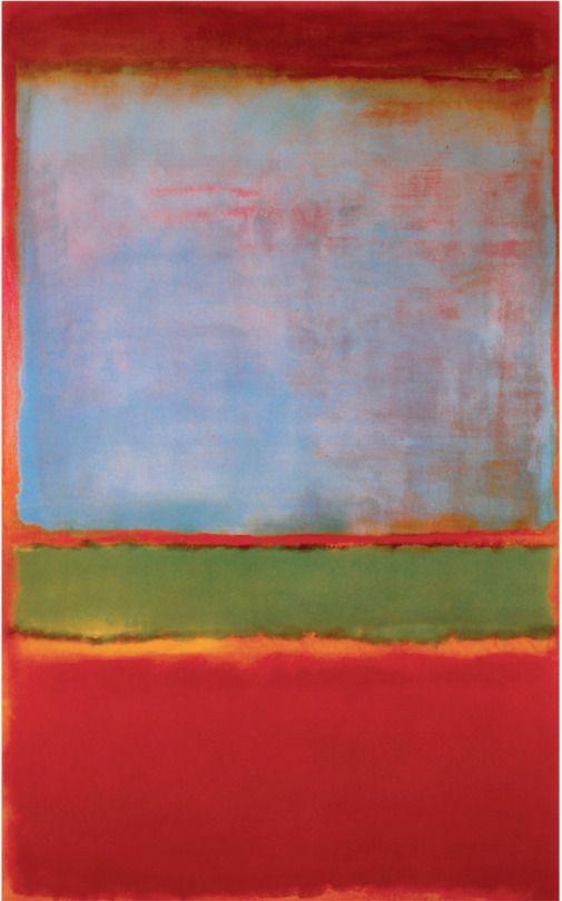 Αποτέλεσμα εικόνας για No. 6 (Violet, Green and Red) by Mark Rothko