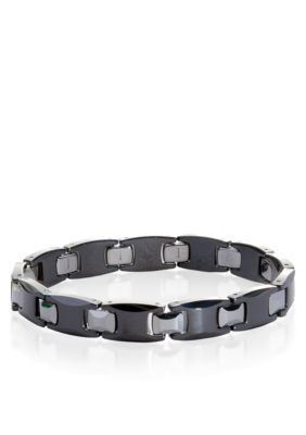 Belk  Co.  Ceramic and Tungsten Bracelet