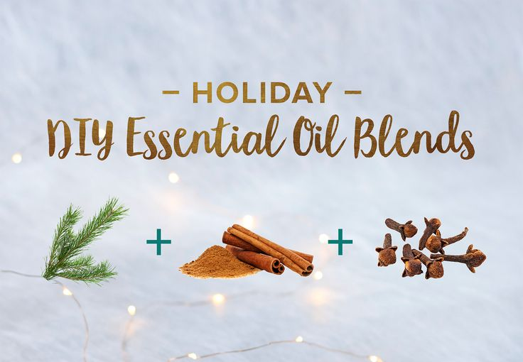 There are certain specific scents that evoke memories of holiday seasons past. So we've gathered some seasonal essential oil blends for your diffuser.