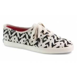 Keds Champion Ikat Black Scarpe Sneakers da Donna di Tela