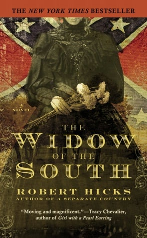 Great Civil War novel.  The Widow of the South refers to Carrie MaGavock, whose Carnton plantation served as a field hospital during the Civil War battle in Franklin, Tennessee.  The novel captures those lives upended by war and the search for belonging in a world turned upside down.