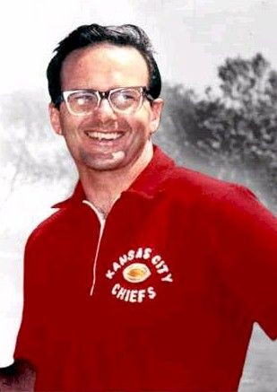 Lamar Hunt, Co-Founder of American Football League and former owner of the Kansas City Chiefs. Class of 1972.