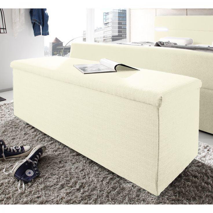 Cassapanca indus tessuto beige arredamento - Cassapanca divano ...