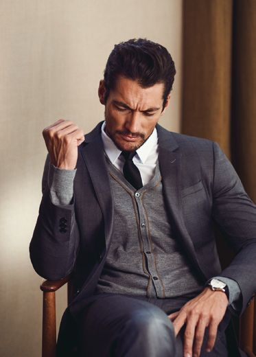 David Gandy for Selected for Homme, Spring 2014. Shot on location in Los Angeles. Hair by Larry King.