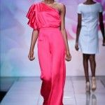 Sophie Zinga @ Mercedes Benz Fashion Week Africa 2013 – Day 4 / South Africa