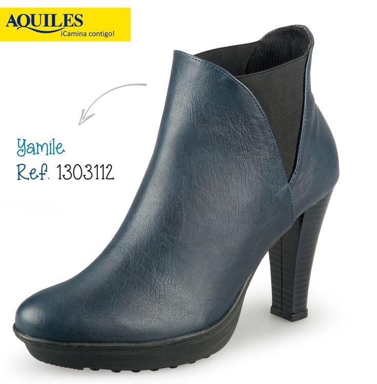 Los botines son muy versátiles.Lo cierto es que combinan muy bien con vestidos, faldas, pantalones y jeans.