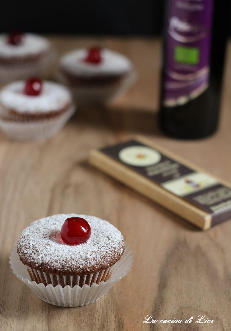 Muffin al cioccolato con olio extravergine d'oliva