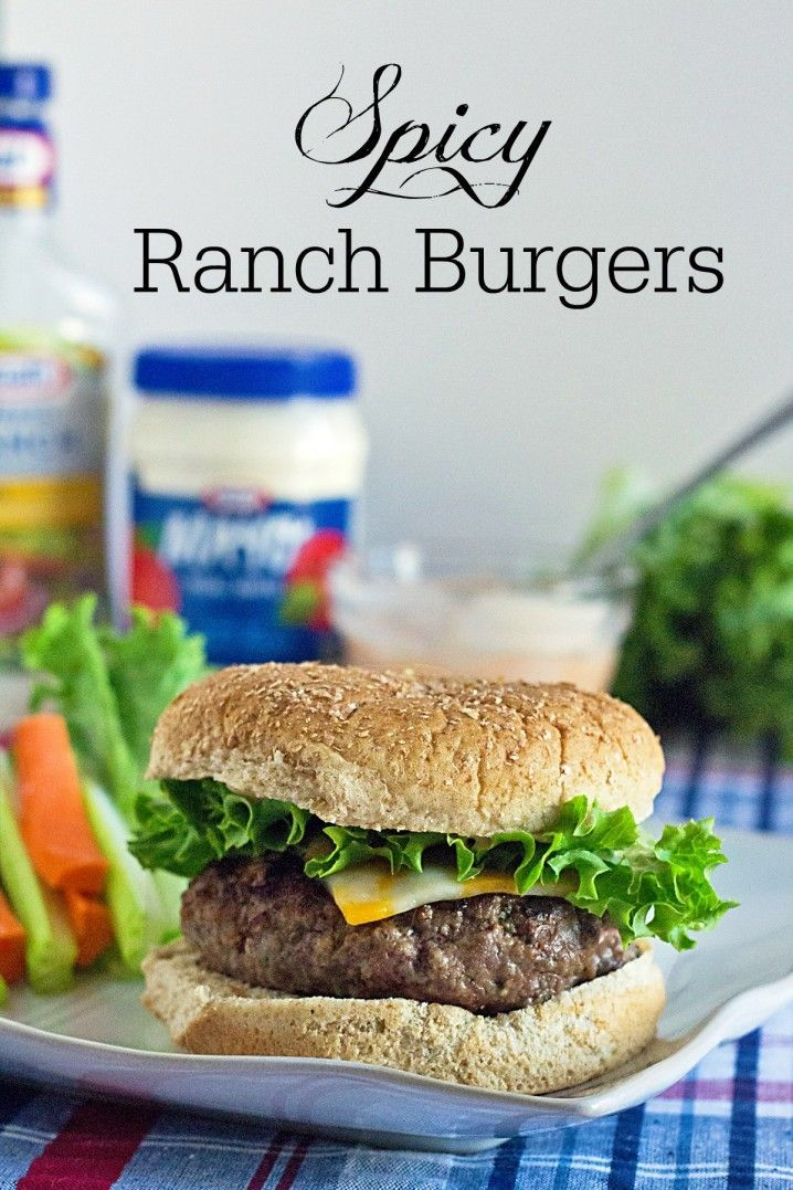 Budget Friendly Meals with Spicy Ranch Burgers Recipe from It's Yummi! #RollIntoSavings #shop