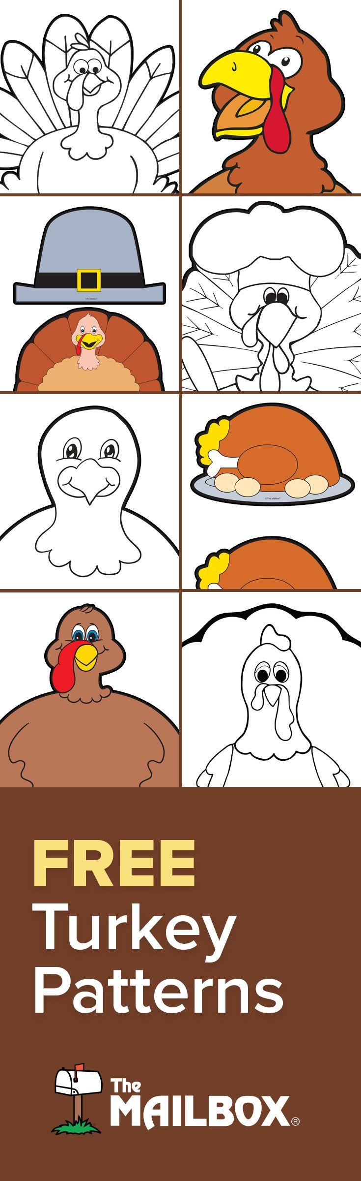 best 25 turkey pattern ideas on pinterest turkey template