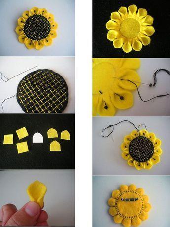 5 Manualidades Con Fieltro Para El Dia De La Madre Felt Flower