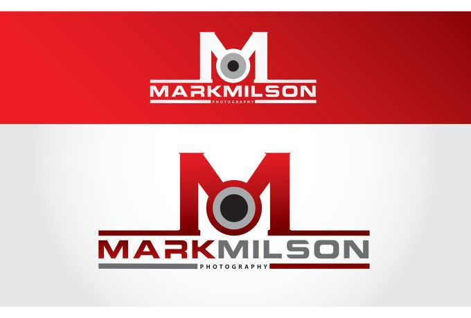 Logo Presentation Of Mark milson Photography. logo maker, company logo, logo design, Modern logo.