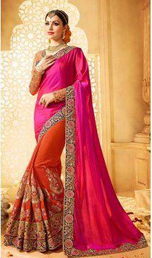 Deep Pink Color Georgette Embroidery Designer Saree | FH583986201 Follow us @heenastyle #saree #sari #sarees #sareelove #sareeindia #indiansaree #designersaree #sareeday #silksaree #lehengasaree #designersarees #sareesilk #weddingsaree #sareeblouse #sareefashion #ethnicwear #georgette #partywear #latestfashion #latestdesign #newfashionsaree #newdesigsaree #goldenbordersaree #instafashion #designersaris #heenastylesaree #heenastyle