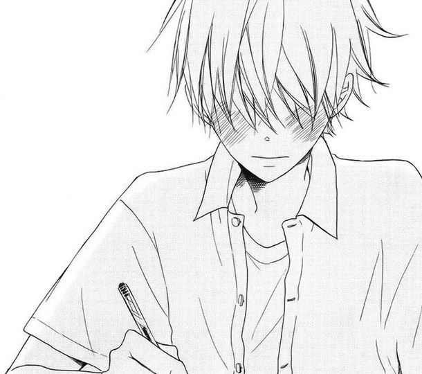 Anime Guys Blushing