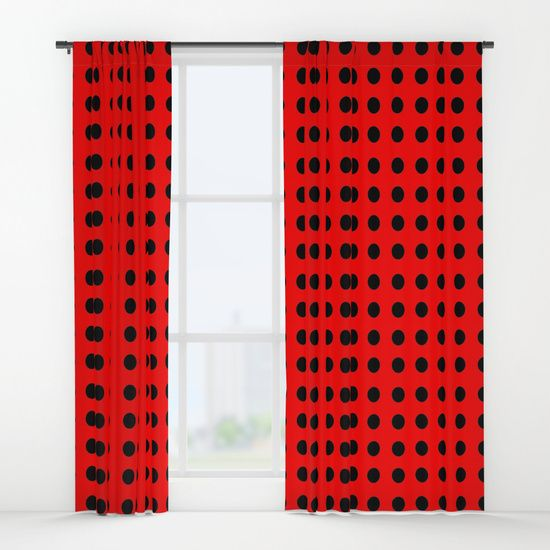 Top 25+ Best Red And Black Curtains Ideas On Pinterest
