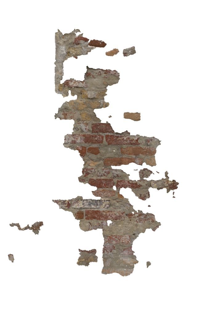 wall damage brick