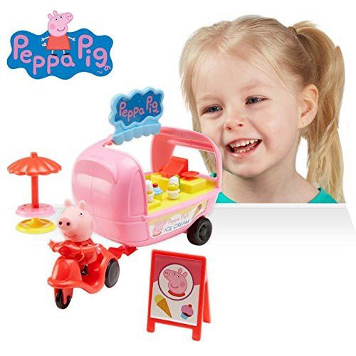 Peppa Pig Theme Park Ice Cream Playset Toy For Kids