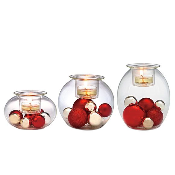 1000 images about partylite luovuus kuplat trio on for Trio miroir partylite