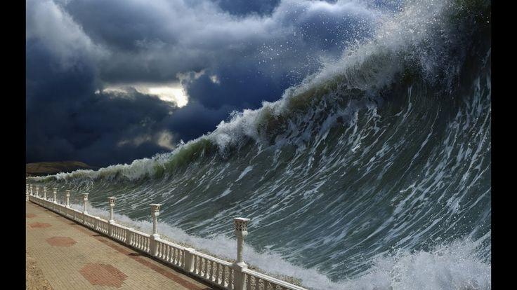 MEGA TSUNAMI 7.3 Earthquake -Tsunami Fukushima  - Tsunami Warning. Live ...