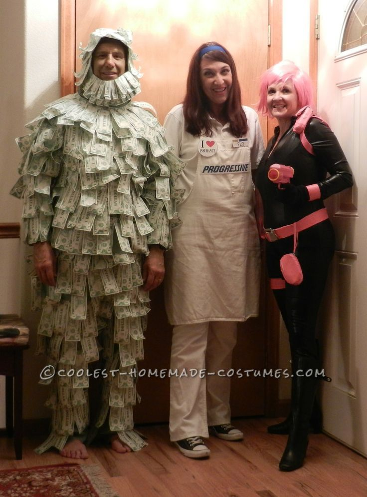 The Insurance Superheroes Group Halloween Costume… Coolest Halloween Costume Contest