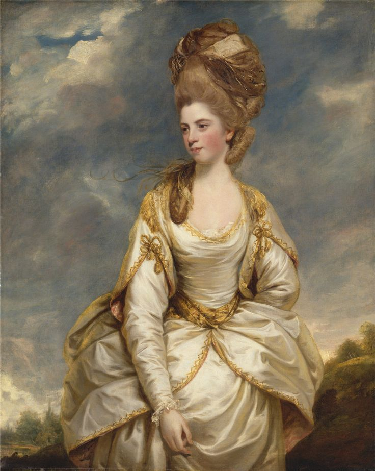 Sir Joshua Reynolds, 1723-1792, British, Sarah Campbell, 1777 to 1778, Oil on canvas, Yale Center for British Art, Paul Mellon Collection.