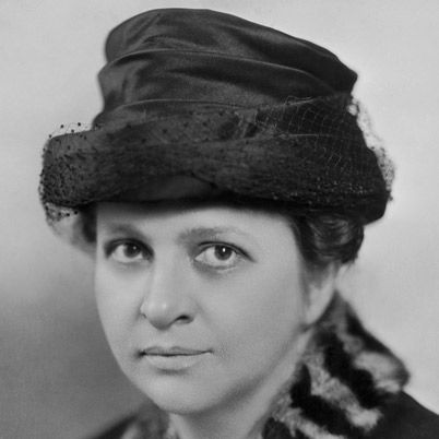 Frances Perkins - FDR's Secretary of Labor and the first female member of a President's Cabinet.
