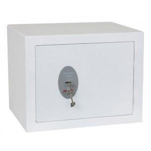 Caja de seguridad para guardar gran cantidad de objetos de valor y dinero de posibles robos.  Equipada con una cerradura de alta seguridad VDS clase 1.  Capacidad: 8 Litros