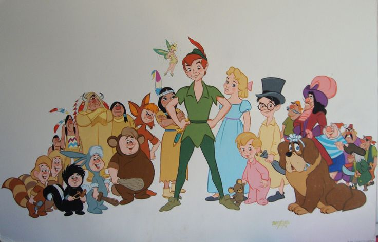 Immagine di http://www.artstormfineart.com/Disneyland/Bill%20justice%20Peter%20Pan.jpg.