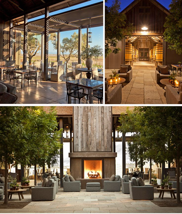 sonoma outdoor fireplace. Outdoor Living  Ram s Gate Winery in Sonoma Designers ODA Design Associates and Backen 126 best images on Pinterest Architectural digest