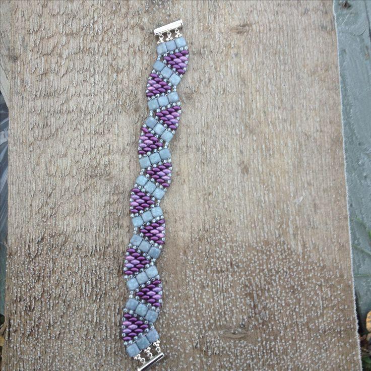 Super duo bracelet Deb Roberti pattern