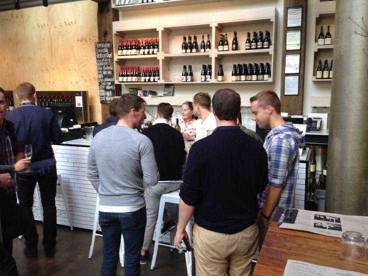 "September is ""Meet the Winemakers"" - tasting time."