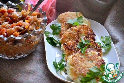 Капустно-рисовые котлеты - кулинарный рецепт