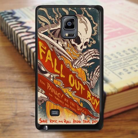 Fall Out Boy Skull Cover Album Samsung Galaxy Note 3 Case