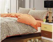 Style Orange Cheetah Print Bedding Sets [101201000013] - $109.99 : Colorful Mart, All for Enjoyment